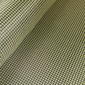 Carbon kevlar fabric